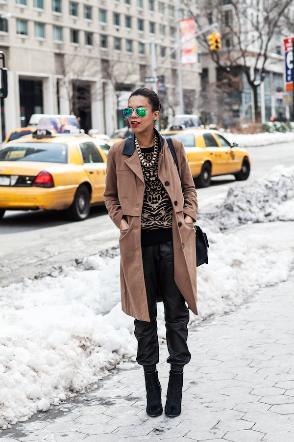 nyfw the trench - STYLE ME GRASIE ootd