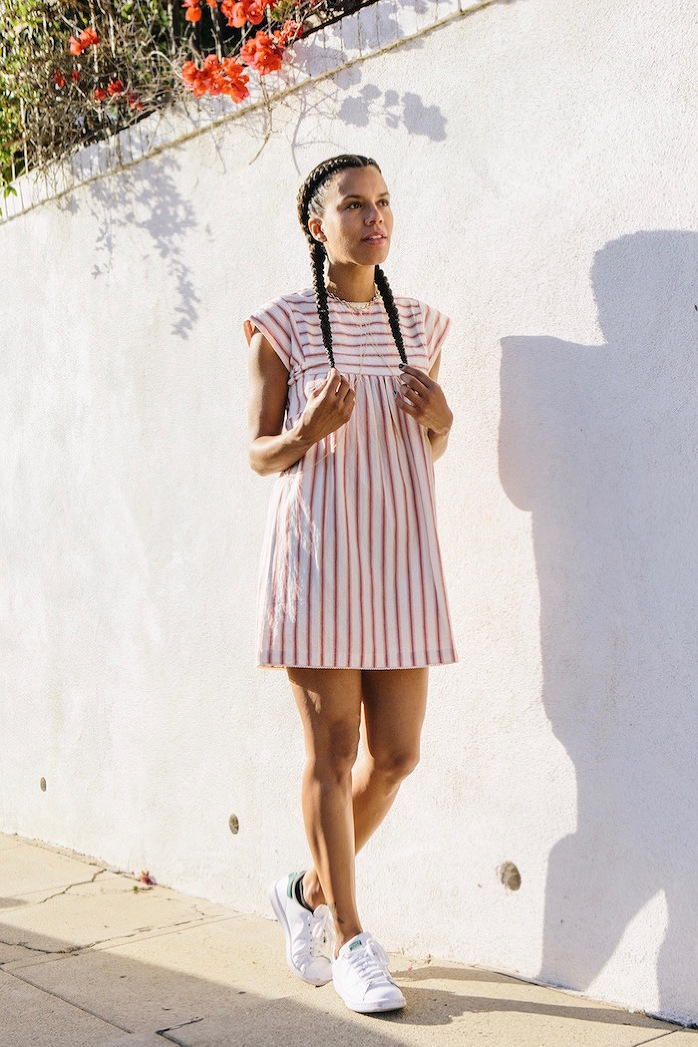 candy striped dress - STYLE ME GRASIE