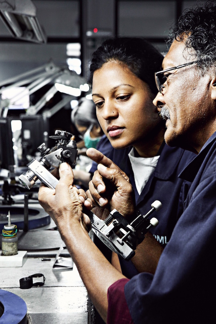 Tiffany Makers at Laurelton Diamonds, Mauritius