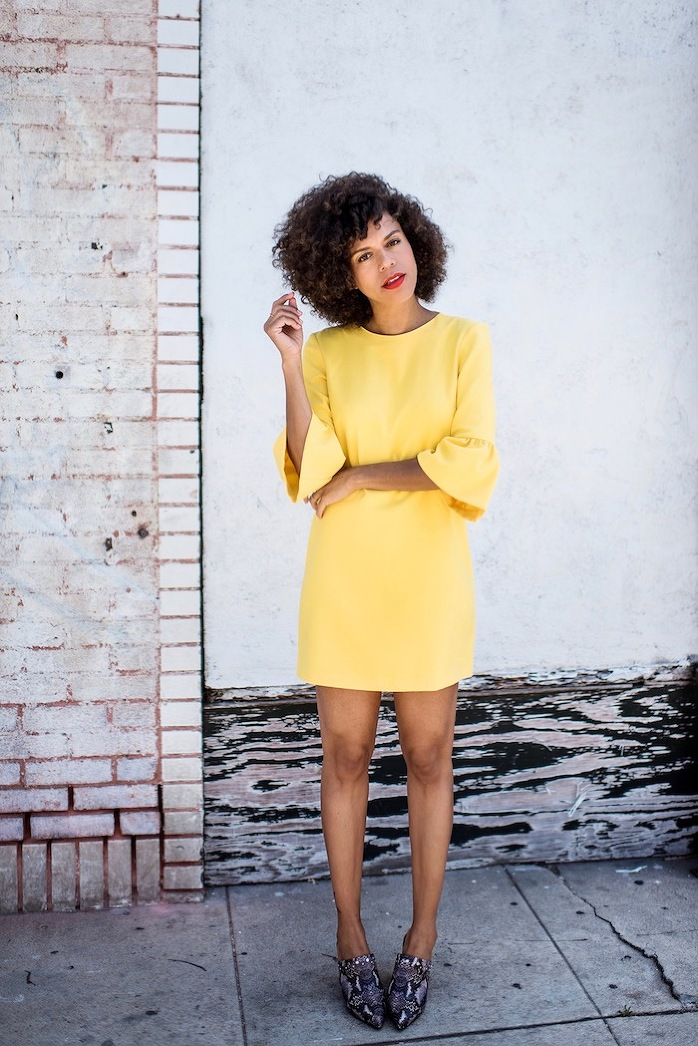 little yellow dress - STYLE ME GRASIE