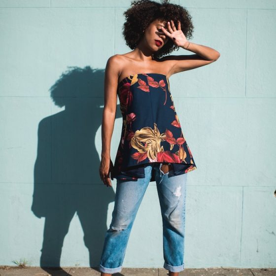 fall floral top - STYLE ME GRASIE