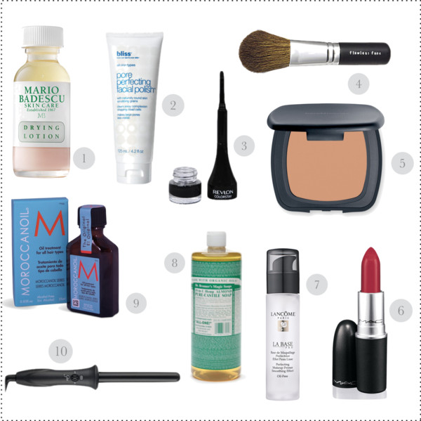 top 10 beauty must-haves - STYLE ME GRASIE