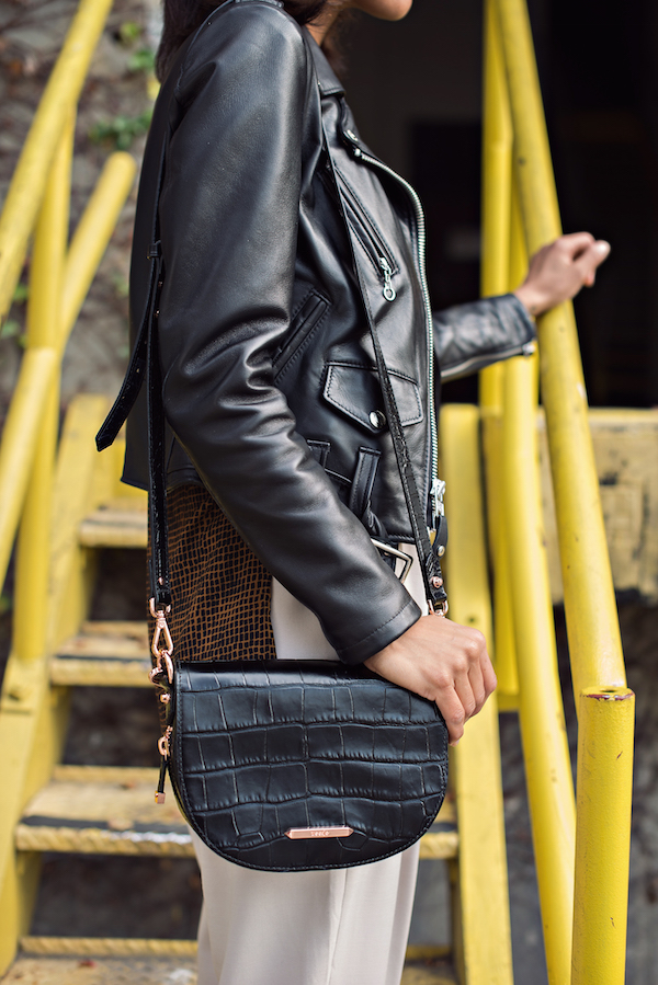 leather moto jacket + trousers - STYLE ME GRASIE