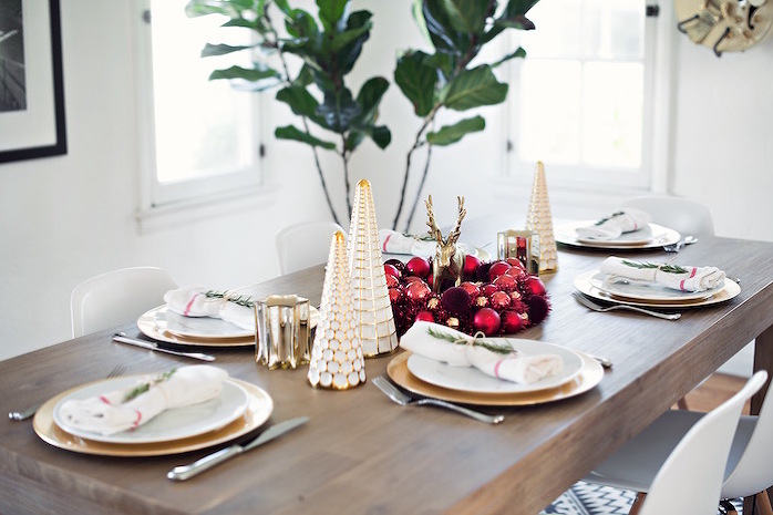 holiday tabletop decorating - STYLE ME GRASIE