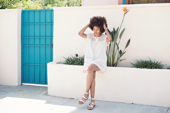 little white dress ootd - STYLE ME GRASIE