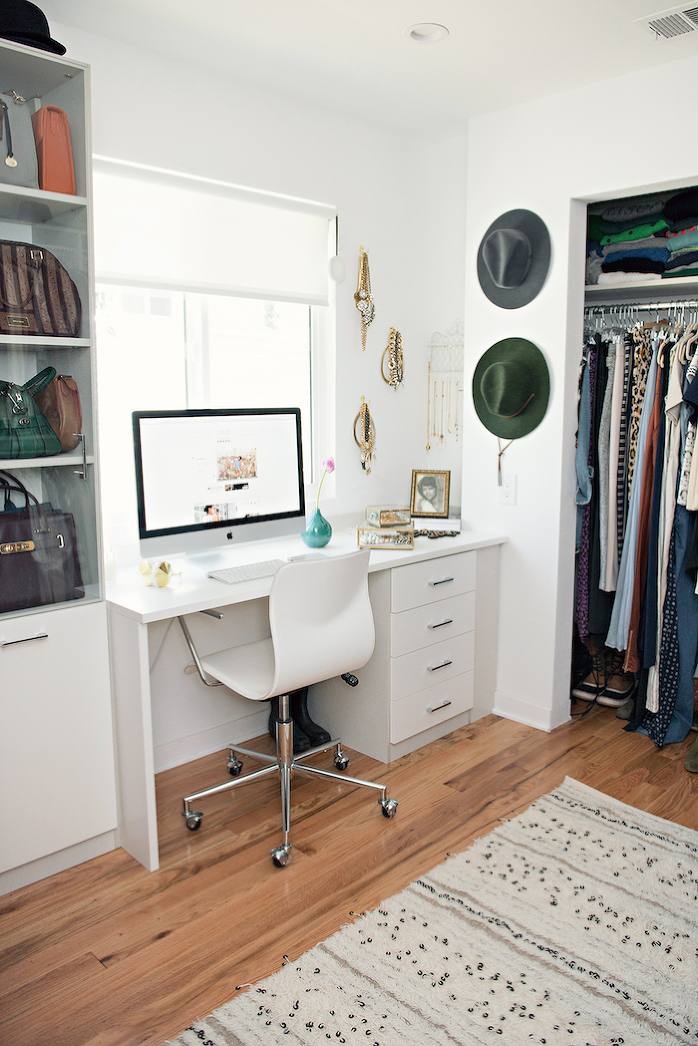 Our New Home : Closet/office