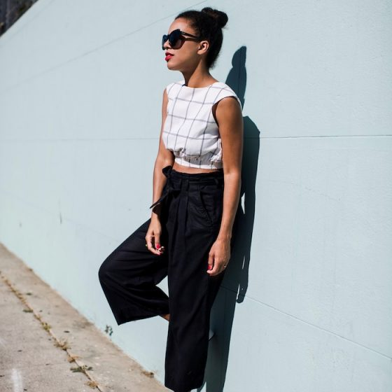 how to wear black & white for summer - STYLE ME GRASIE
