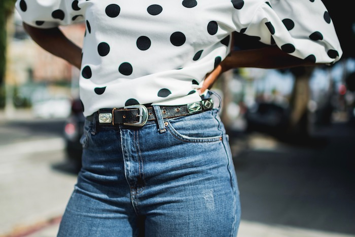polka dots and mom jeans - STYLE ME GRASIE