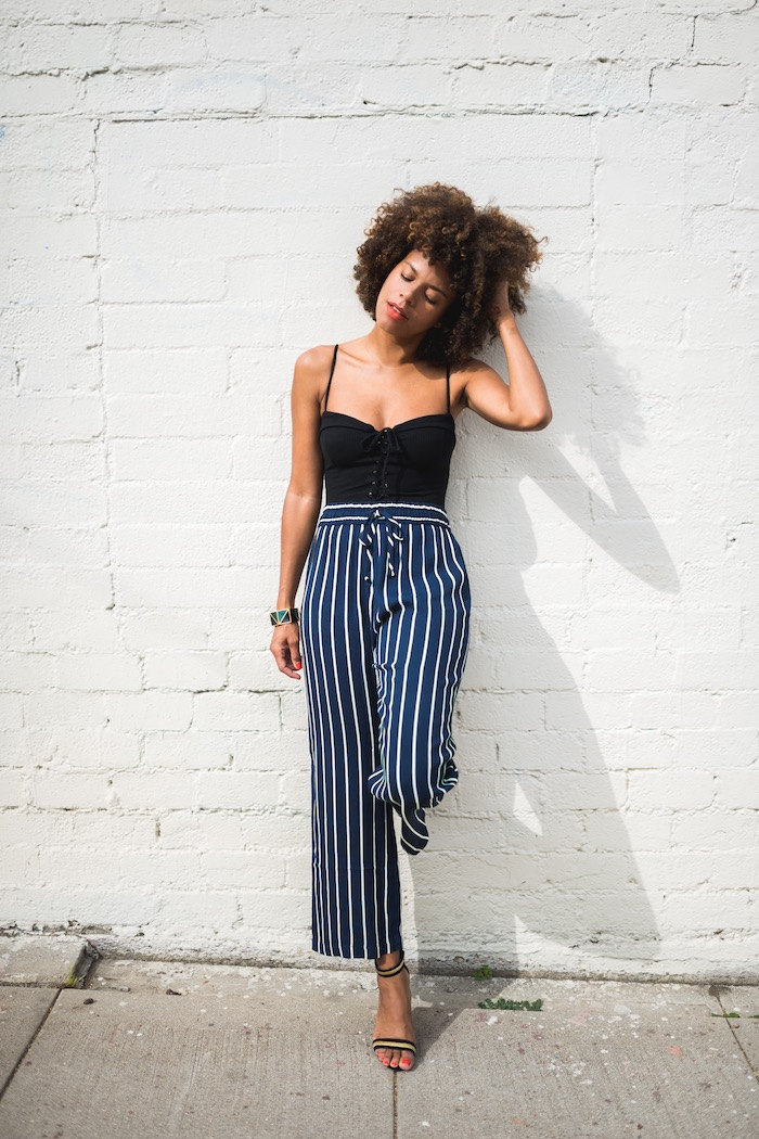 striped pants - STYLE ME GRASIE